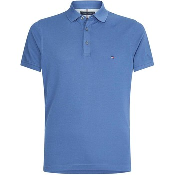 Textiel Heren Polo's korte mouwen Tommy Hilfiger MW0MW17771 Blauw