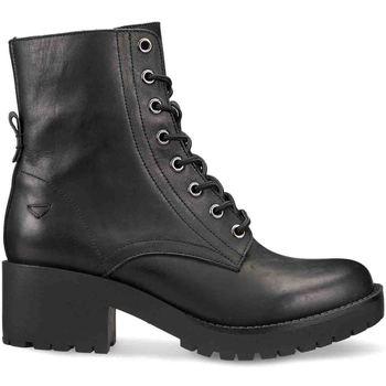 Schoenen Dames Laarzen Docksteps DSW106100 Zwart