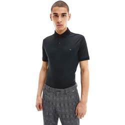 Textiel Heren Polo's korte mouwen Calvin Klein Jeans K10K107090 Zwart