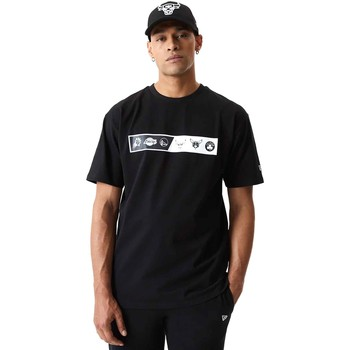 Textiel Heren T-shirts korte mouwen New-Era 12553333 Zwart