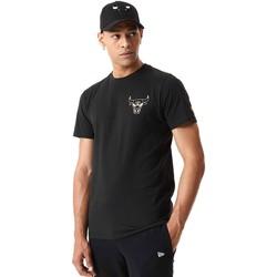 Textiel Heren T-shirts korte mouwen New-Era 12590868 Zwart