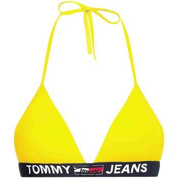 Textiel Dames Zwembroeken/ Zwemshorts Tommy Hilfiger UW0UW02938 Geel