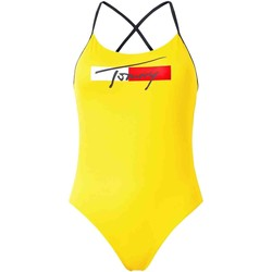 Textiel Dames Zwembroeken/ Zwemshorts Tommy Hilfiger UW0UW02945 Geel
