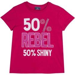 Textiel Kinderen T-shirts korte mouwen Chicco 09067157000000 Roze