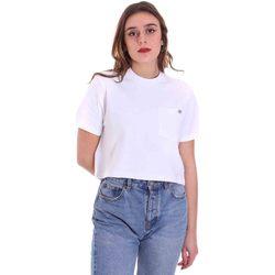 Textiel Dames T-shirts korte mouwen Dickies DK0A4XDEWHX1 Wit