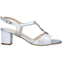 Schoenen Dames Sandalen / Open schoenen Melluso K95350 Zilver