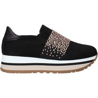Schoenen Dames Instappers Grace Shoes GLAM007 Zwart