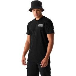 Textiel Heren T-shirts & Polo's New-Era 12590875 Zwart