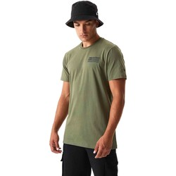 Textiel Heren T-shirts & Polo's New-Era 12590874 Groen