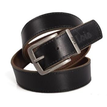 Accessoires Heren Riemen Lois Reversible Leather Zwartbruin Omkeerbaar