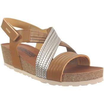 Schoenen Dames Sandalen / Open schoenen Mephisto Renza Lichtbruin leer