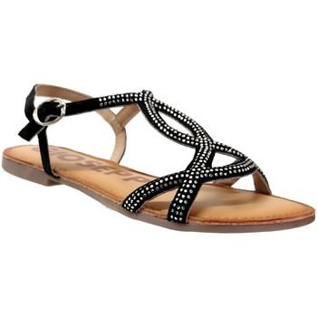 Schoenen Dames Sandalen / Open schoenen Gioseppo Conover Velvet zwart