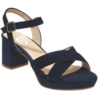 Schoenen Dames Sandalen / Open schoenen Folies 2002 Marineblauw fluweel