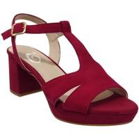 Schoenen Dames Sandalen / Open schoenen Folies 2001 Fluweelrood