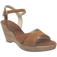 Schoenen Dames Sandalen / Open schoenen Folies 3204 Fluweelbruin