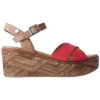 Schoenen Dames Sandalen / Open schoenen Carmela  Rood