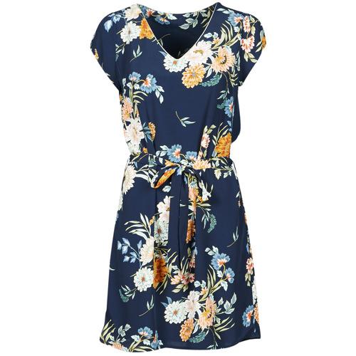 Textiel Dames Korte jurken Betty London OWAKA Marine / Multicolour