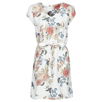 Textiel Dames Korte jurken Betty London OWAKA Wit / Multicolour