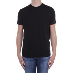 Textiel Heren T-shirts korte mouwen Dsquared D9M203540 Black