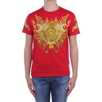 Textiel Heren T-shirts korte mouwen Versace Jeans Couture B3 GWA7S1S0274 Red
