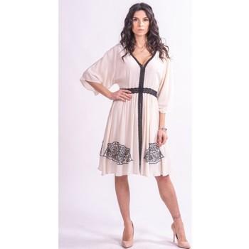 Textiel Dames Korte jurken Fracomina F321SD2002W41801 Kleurloos