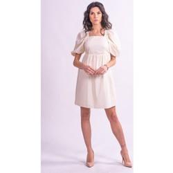 Textiel Dames Korte jurken Fracomina F321SD1004W40001 Kleurloos