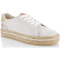Schoenen Dames Lage sneakers Kimberfeel CAMILIA Beige