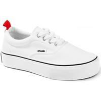 Schoenen Lage sneakers D.Franklin 20006 Wit