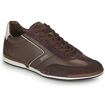 Schoenen Heren Lage sneakers BOSS SATURN LOWP ITAL Bruin
