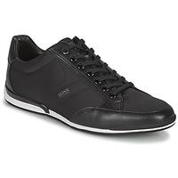 Schoenen Heren Lage sneakers BOSS Saturn_Lowp_nyst Zwart