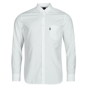 Textiel Heren Overhemden lange mouwen BOSS MAGNETON Wit