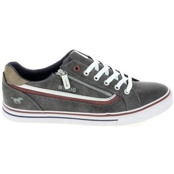 Schoenen Lage sneakers Mustang Sneaker 4147301 Gris fonce Grijs