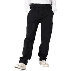 Textiel Heren Cargobroek Converse Easy waist carpenter pant Zwart