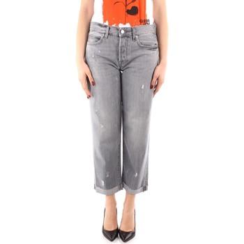 Textiel Dames Boyfriend jeans Roy Rogers P21RND011G0170313 GREY