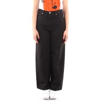 Textiel Dames Losse broeken / Harembroeken Roy Rogers P21RND091P3211755 BLACK