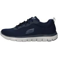 Schoenen Heren Lage sneakers Skechers 52125 NAVY BLUE