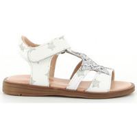 Schoenen Meisjes Sandalen / Open schoenen Acebo's 3149 PE blanco blanc