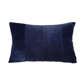 Wonen Kussens Present Time RIBBED Blauw / Night