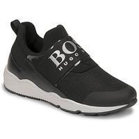 Schoenen Jongens Lage sneakers BOSS FETINA Zwart