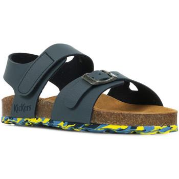 Schoenen Jongens Sandalen / Open schoenen Kickers Sunkro Blauw