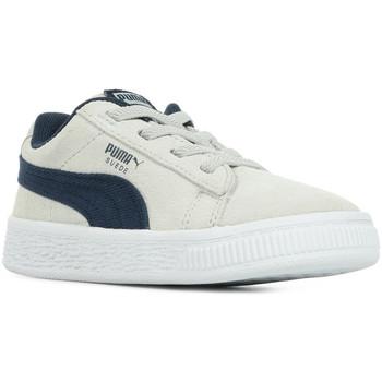 Schoenen Kinderen Lage sneakers Puma Inf Suede CL DNM AC Grijs