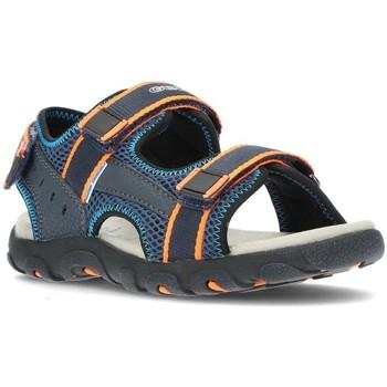 Schoenen Jongens Sandalen / Open schoenen Geox SANDALEN  STRADA J1524A MARINE