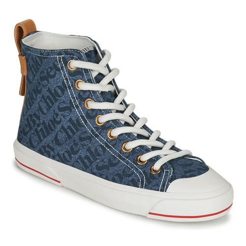 Schoenen Dames Hoge sneakers See by Chloé ARYANA Blauw