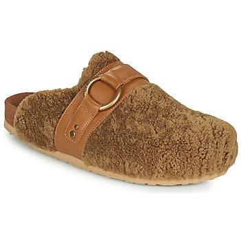 Schoenen Dames Leren slippers See by Chloé GEMA Camel