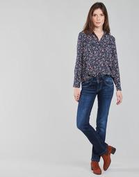 Textiel Dames Straight jeans Pepe jeans NEW GEN Blauw / Brut