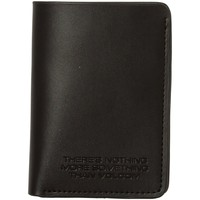Tassen Portefeuilles Volcom The Classic Leather Card Black