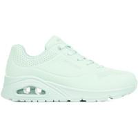 Schoenen Dames Lage sneakers Skechers Uno Frosty Kicks Groen