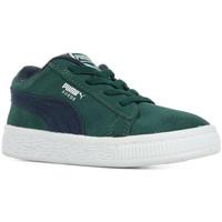 Schoenen Kinderen Lage sneakers Puma Inf Suede Cl Dnm Ac Groen