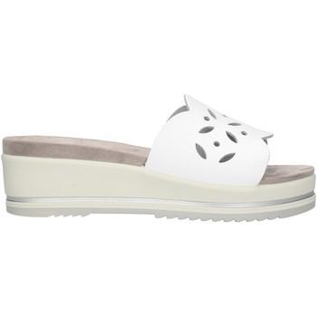 Schoenen Dames Leren slippers Enval 72844 White
