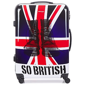 Tassen Valise Rigide David Jones UNION JACK 83L Multi